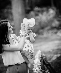 family portrait at hubbard park by Christina Wesley Photography